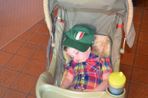 Italian flag cap