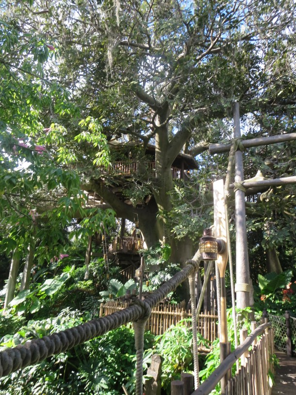 It's an impressive treehouse, to say the least!