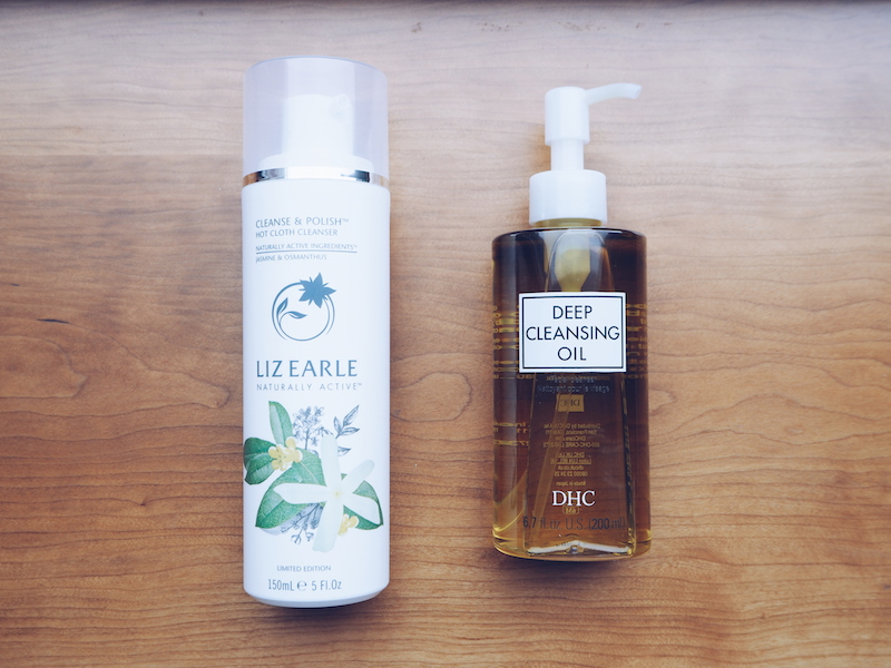 Liz Earle Cleanse and polish DHC Deep Cleansing Oil