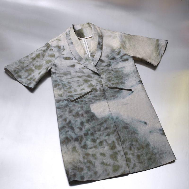 PER/se Reiko Kaneko Meta Coat