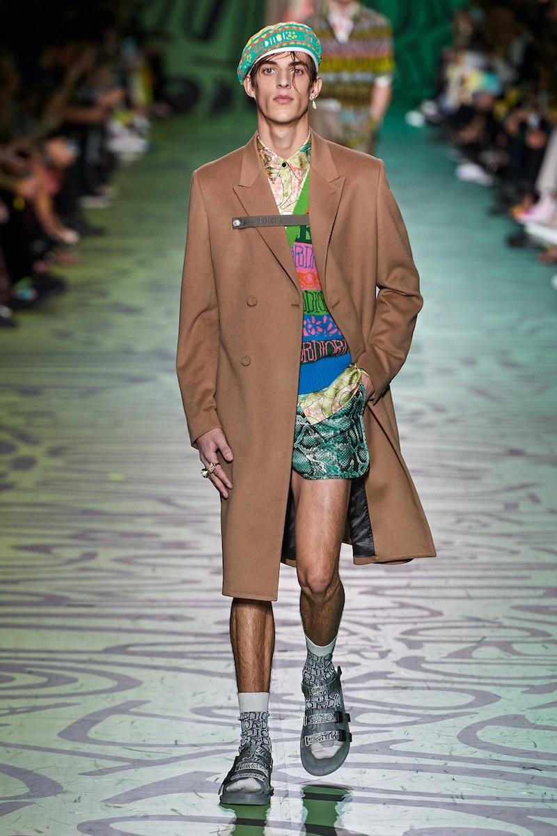 Dior Shawn Stussy pre fall 2020 Vogue Runway