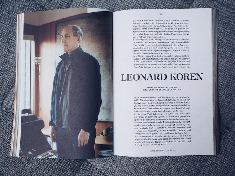 Leonard Koren Apartamento issue 19
