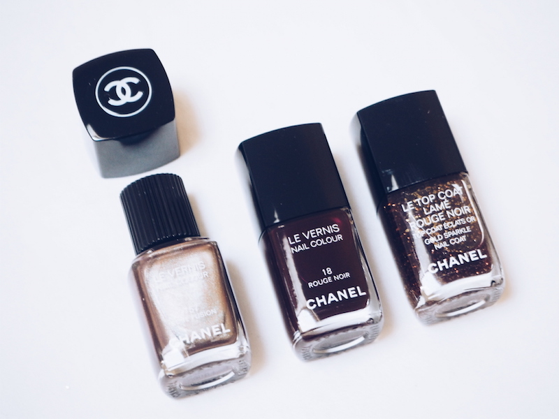 Chanel Rouge Noir limited edition nail colours