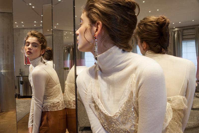 Dior Bond Street by Emma Miranda Moore for Disneyrollergirl Petit Dejeuner