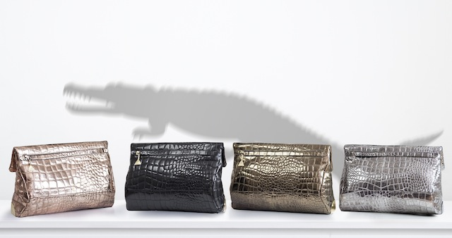 5 AW13 Campaign - Croc clutches