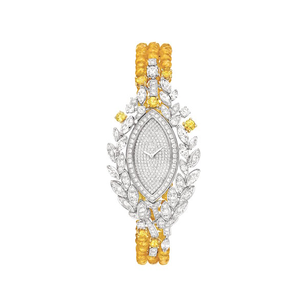 Chanel Moisson D'Or watch from Les Bles de Chanel high jewellery collection