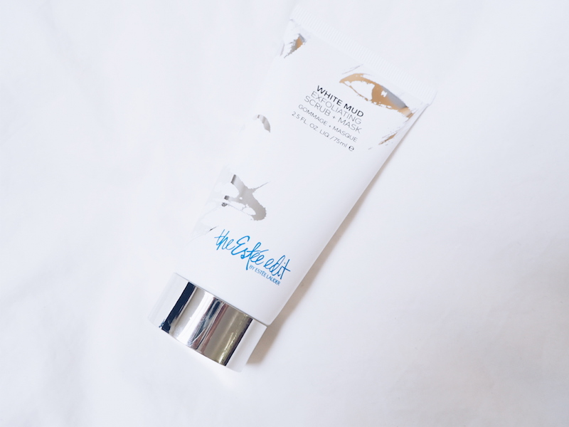 The Estee Edit White Mud Exfoliating Scrub and Mask