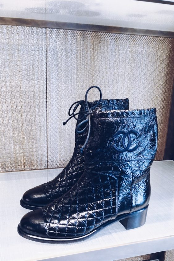 Chanel aw18 boots