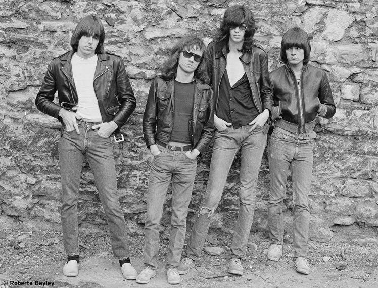 Levi's 505 worn by The Ramones