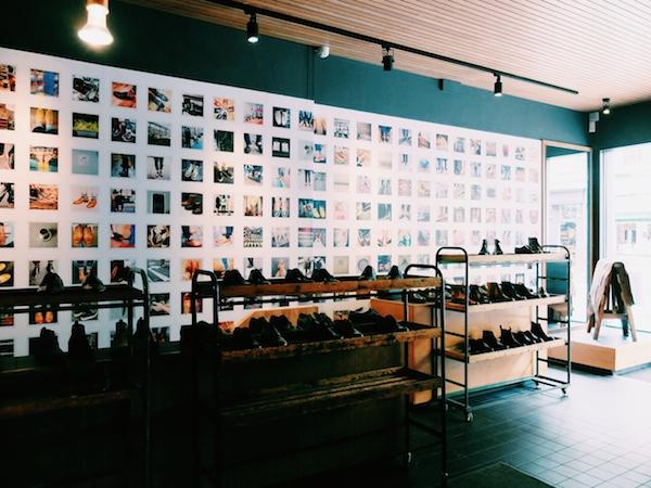 Grenson London shoe store Lambs Conduit Street