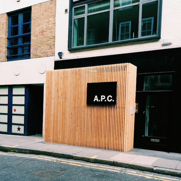 APC-store-Lexington-Street-London-W1