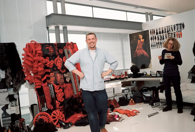 Alexander McQueen by Nick waplington