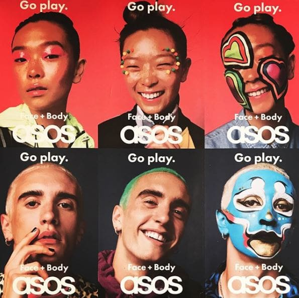 Asos Go Play Campaign