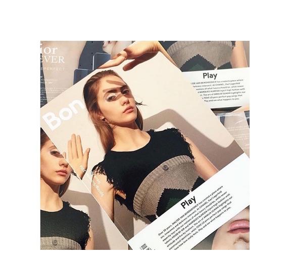 Bon Magazine Chanel playful luxury
