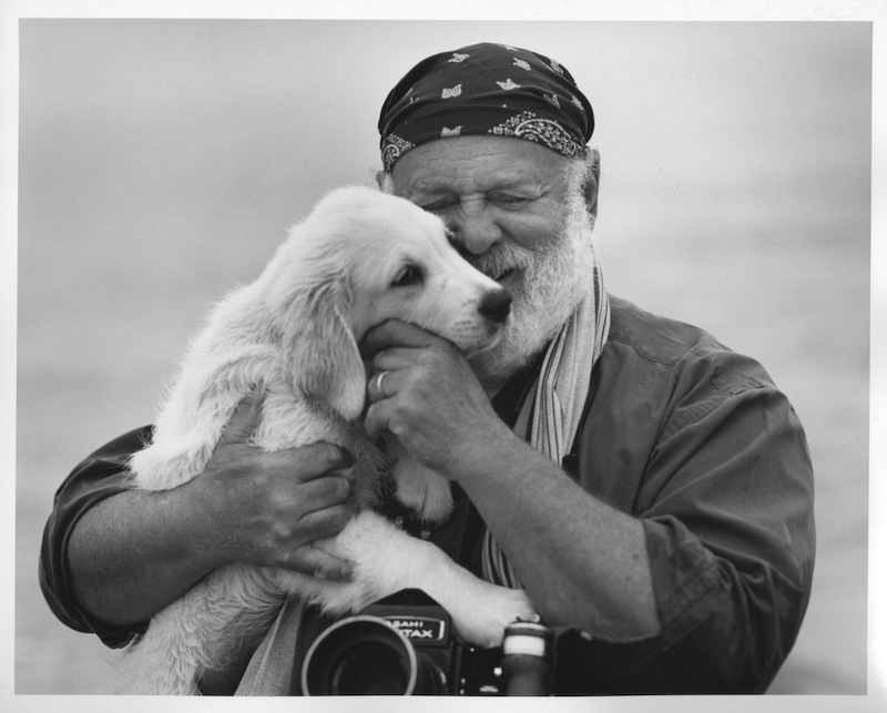Portrait of Bruce Weber. Courtesy Little Bear Films.