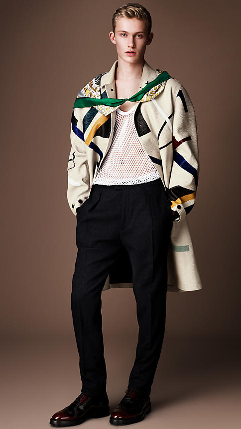 Burberry-Aw14-Hand-painted-caban-coat 2
