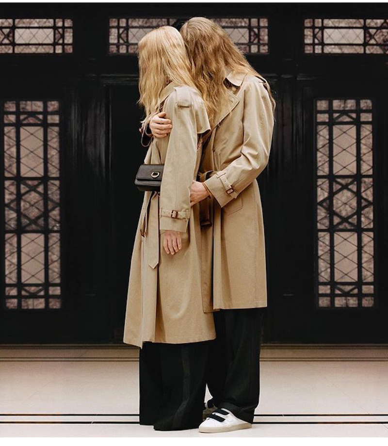 Burberry ss19 pre-collection iconic heritage classics