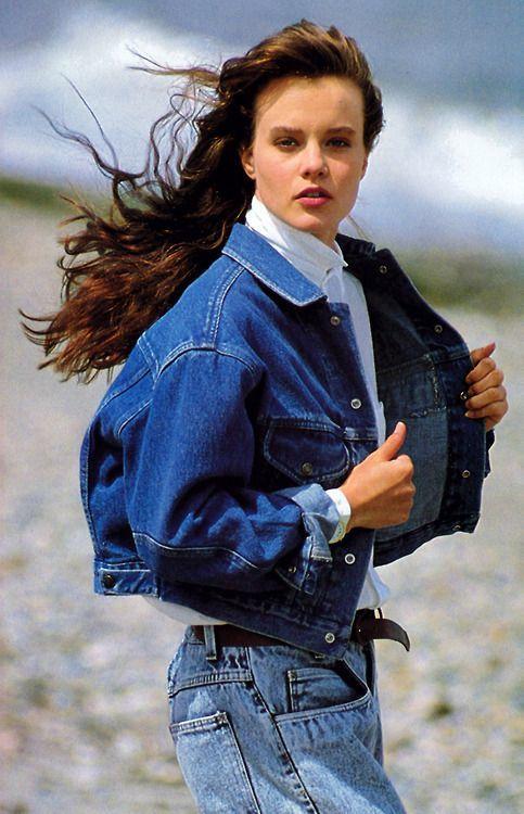 Calvin Klein 1987 Elle