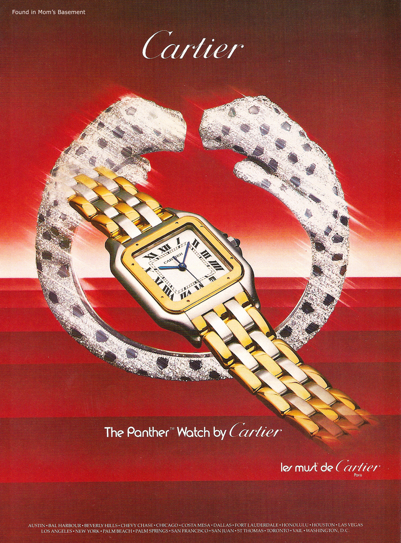 Cartier Panthère watch relaunch