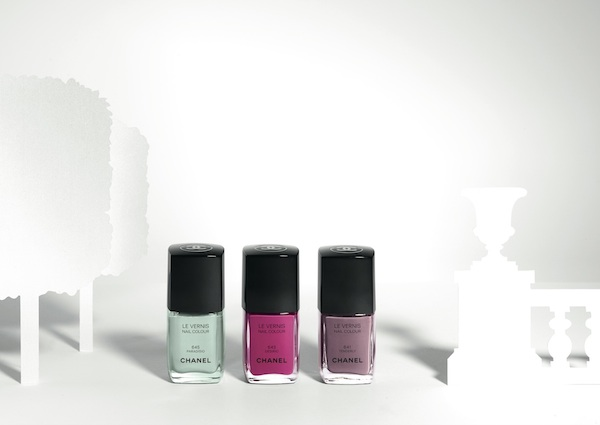 Chanel spring 2015 nail colours photo by Paul LEPREUX