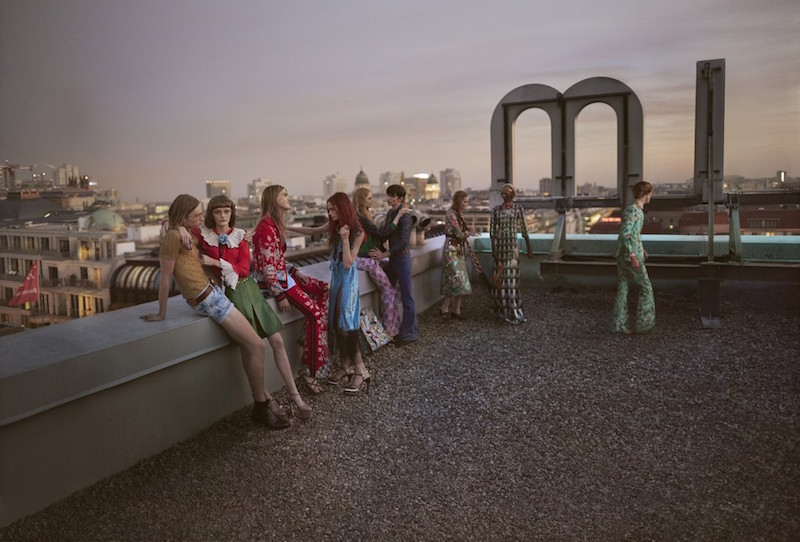 GUCCI ad campaign for ss16 by Glen Luchford