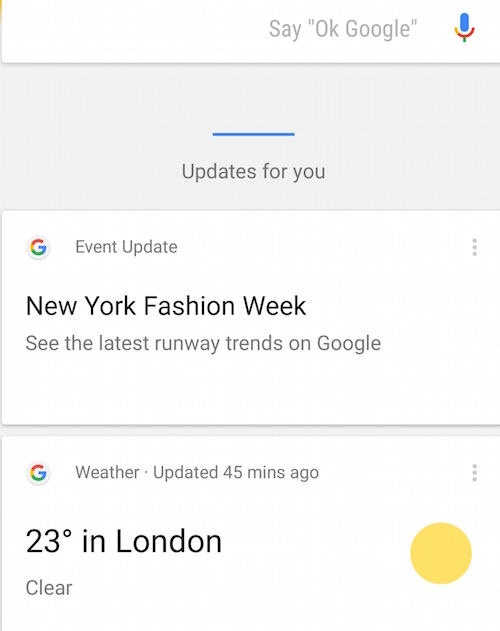Google New York Fashion Week