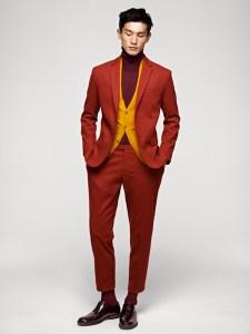 H&M autumn/winter 12 a/w12 menswear