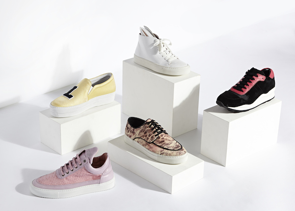 Harvey Nichols The Sneaker Concept space dedicated to high fashion trainers