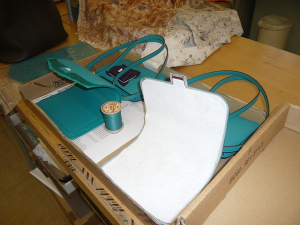 How are Hermes handbags made?
