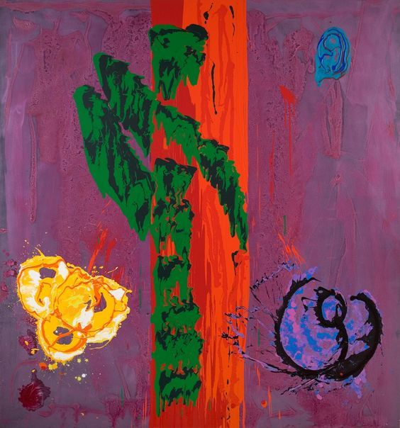 John Hoyland at Tate Britain