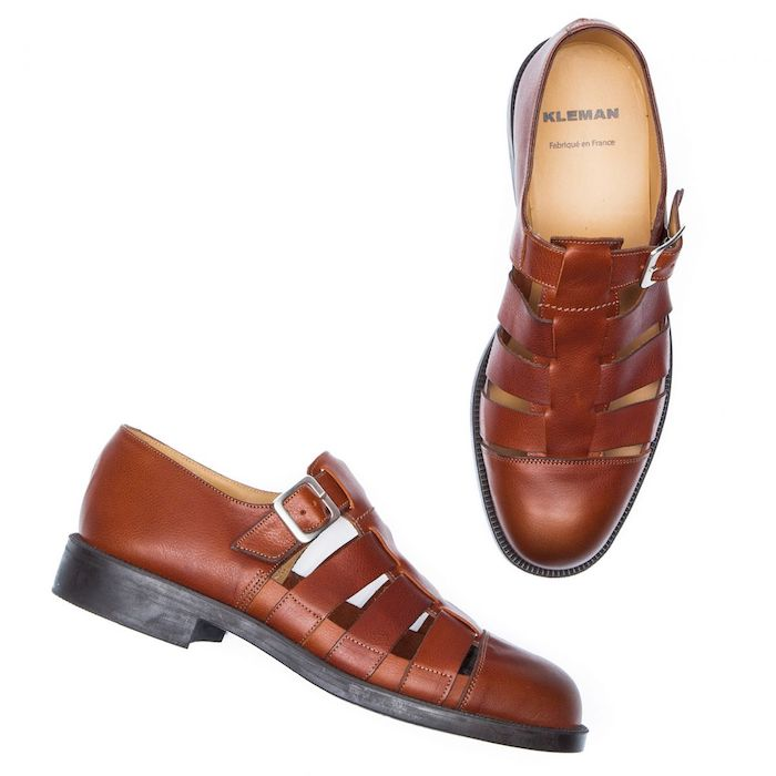 Kleman Dimori heritage-style shoes - made in France