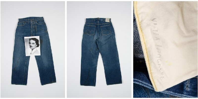 oldest Levi's women's jeans in the world