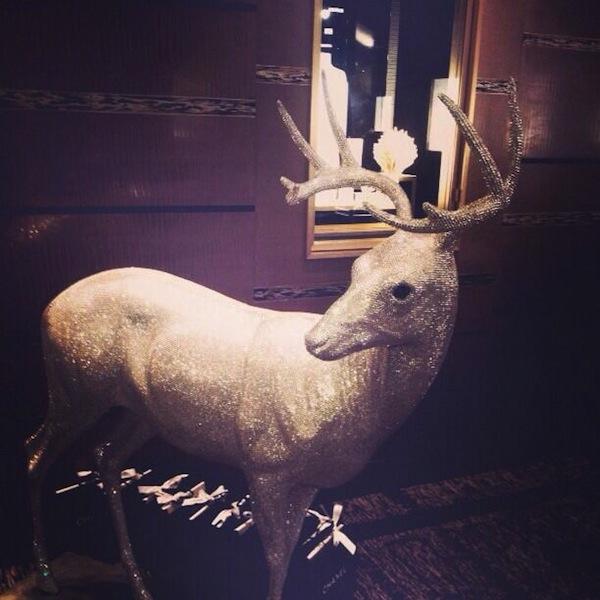 Marc-Swanson-Swarovski-deer AnotherMagazine