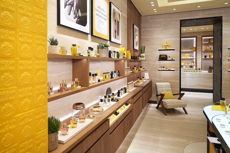 New Acqua di Parma Boutique Rome