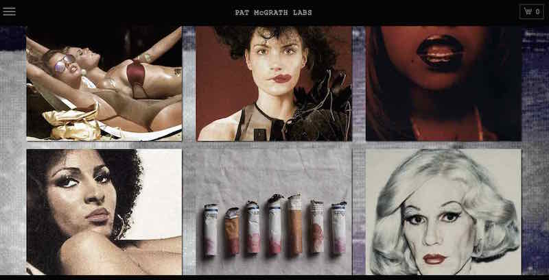 Pat McGrath Labs website