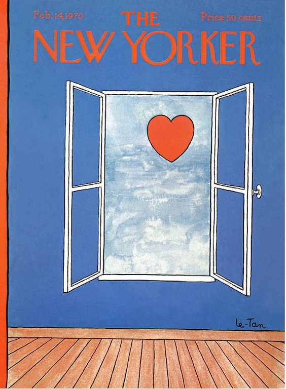 Pierre Le-Tan New Yorker Feb 14 1970