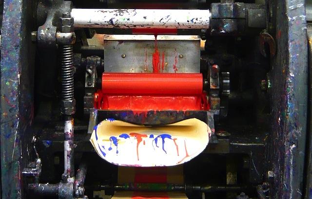 Smythson-factory-printing-machine