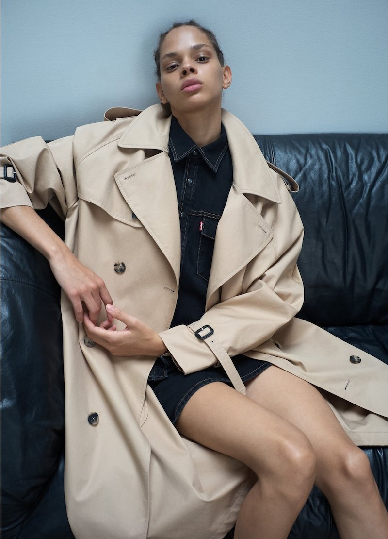 Shop the post - Wardrobe NYC trench coat
