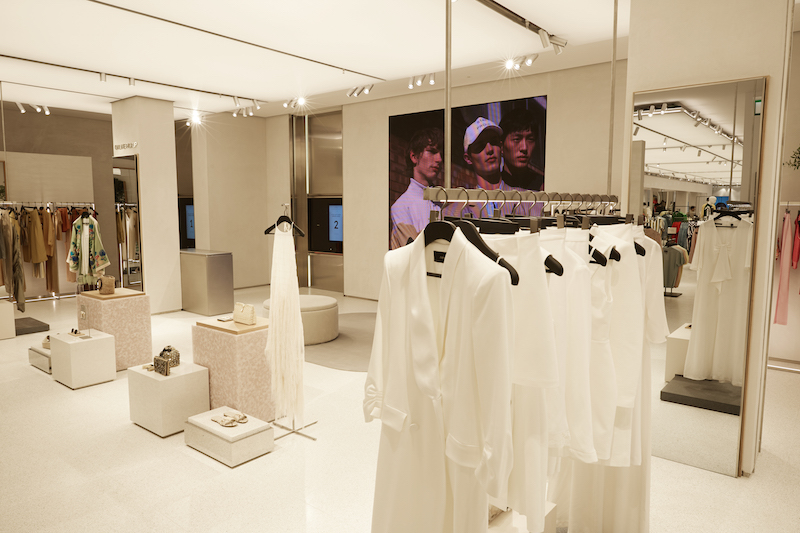 The Zara Westfield Stratford store uses RFID and click and collect services to tempt millennial customers