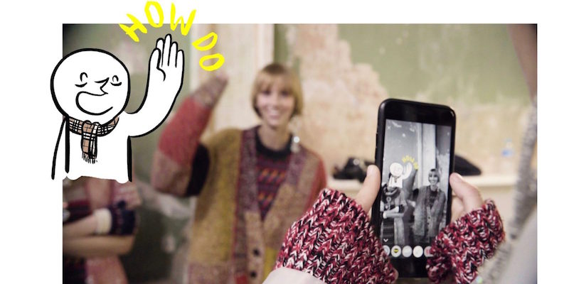 burberry augmented reality app illustrated by Danny Sangra