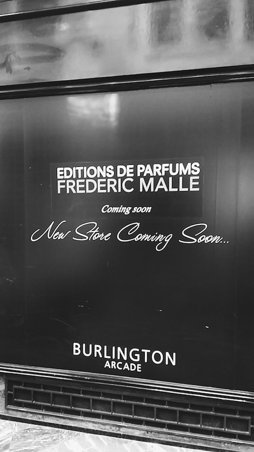 Frederic Malle store to open in Burlington Arcade