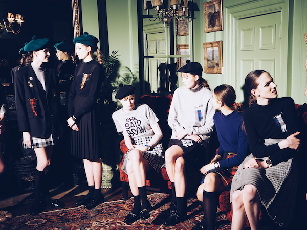 Le Kilt Sam McCoach aw15 London Fashion Week