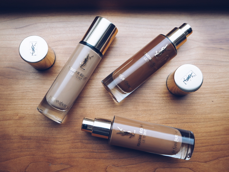 A new version of ysl Touche eclat Le Teint Foundation has just launched