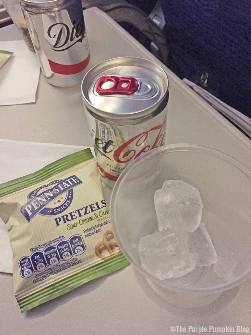 British Airways Food - London to Orlando