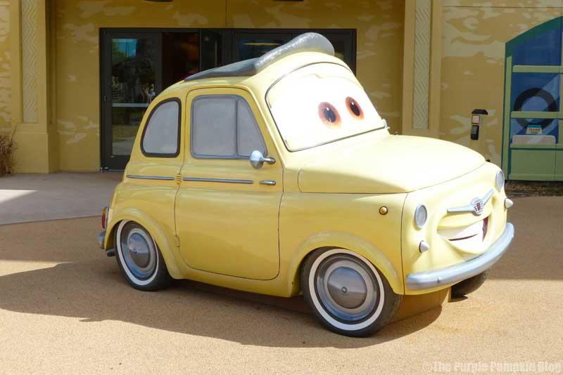 Disney's Art of Animation Resort - Cars Courtyard - Luigi Model