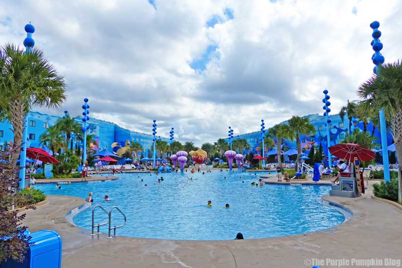 Disney's Art of Animation Resort - The Big Blue Pool