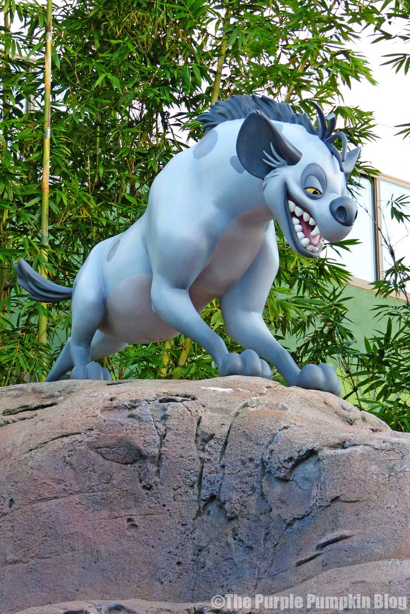 Disney's Art of Animation Resort - The Lion King Courtyard - Shenzi Statue