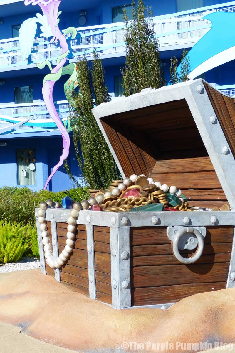 Disney's Art of Animation - The Little Mermaid Courtyard