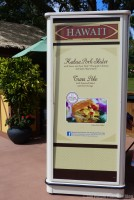 Epcot Food & Wine Festival 2015 - Hawaii Booth