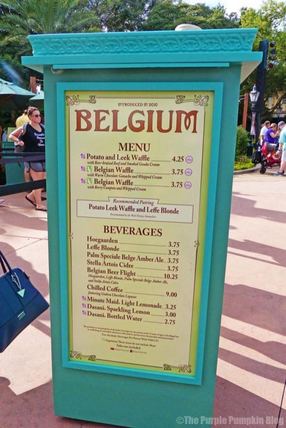 Epcot Food & Wine Festival 2015 - Belgium